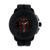 Buy Tendence Gents Gulliver Round Rubber Strap Watch 2046018 online