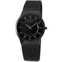 Buy Skagen Gents Black Titanium Watch 233LTMB online
