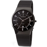 Buy Skagen Gents Black Titanium Watch 233XLTMB online