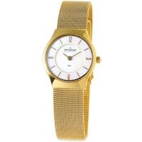 Buy Skagen Ladies Gold Tone Watch 233XSGG online