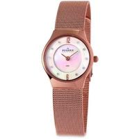 Buy Skagen Ladies Rose Gold Tone Watch 233XSRR online