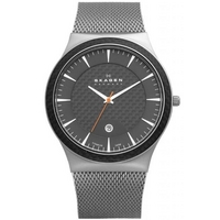 Buy Skagen Gents Grey Titanium Bracelet Watch 234XXLT online