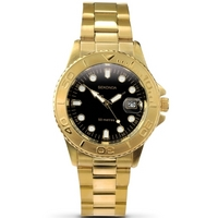 Buy Sekonda Gents Gold Tone Steel Bracelet Watch 3131 online