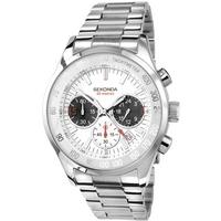 Buy Sekonda Gents Bracelet Chronograph White Dial Watch 3418 online