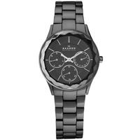 Buy Skagen Ladies Black Steel Bracelet Watch 344LMXM online