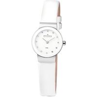 Buy Skagen Ladies Leather Strap Watch 358XSSLWW online