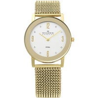 Buy Skagen Ladies Gold Tone Watch 39LGG1 online