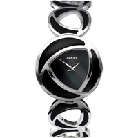 Buy Seksy Ladies Black Bracelet Watch 4532 online