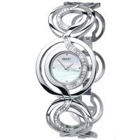 Buy Seksy Ladies Mother of Pearl Round Dial Bracelet Watch 4559 online