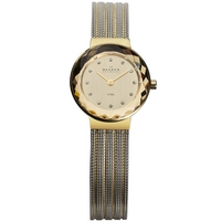 Buy Skagen Ladies Mesh 2 Tone Steel Bracelet Watch 456SGS1 online