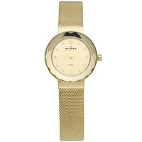 Buy Skagen Ladies Mesh Gold Tone Steel Bracelet Watch 456SGSG online