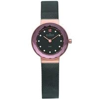 Buy Skagen Ladies Mesh Black Steel Bracelet Watch 456SRM online