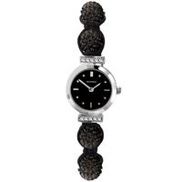 Buy Sekonda Crystalla Ladies Black Jewellery Bracelet Watch 4717.27 online