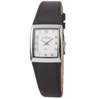 Buy Skagen Ladies Leather Strap Watch 523XSSLBC online