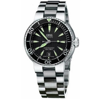 Buy Oris Gents Drivers Gate Silver Tone Bracelet Watch 73375338454MB online