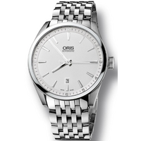 Buy Oris Gents Artix Silver Tone Bracelet Watch 73376424051MB online