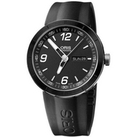Buy Oris Gents TT1 Day  Date Black Rubber Strap Watch 73576514174RS online