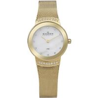 Buy Skagen Ladies Gold Tone Watch 812SGG online
