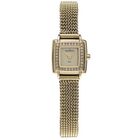 Buy Skagen Ladies Gold Tone Steel Mesh Bracelet Watch 821XSGG1 online