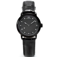 Buy 88 Rue Du Rhone Ladies Black Leather Strap Watch 87WA120001 online