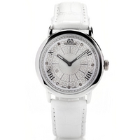 Buy 88 Rue Du Rhone Ladies White Leather Strap Watch 87WA120008 online