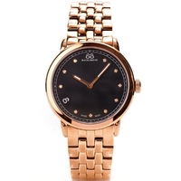 Buy 88 Rue Du Rhone Ladies Rose Gold Tone Steel Bracelet Watch 87WA120017 online