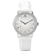 Buy 88 Rue Du Rhone Ladies White Leather Strap Watch 87WA120018 online