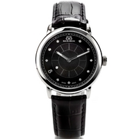 Buy 88 Rue Du Rhone Ladies Black Leather Strap Watch 87WA120020 online