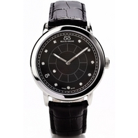 Buy 88 Rue Du Rhone Gents Black Leather Strap Watch 87WA120026 online