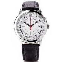 Buy 88 Rue Du Rhone Gents Black Leather Strap Watch 87WA120033 online