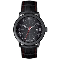 Buy 88 Rue Du Rhone Gents Black Leather Strap Watch 87WA120041 online