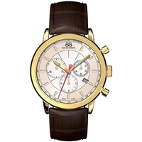 Buy 88 Rue Du Rhone Gents Brown Leather Strap Watch 87WA120045 online