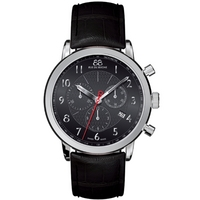 Buy 88 Rue Du Rhone Gents Black Leather Strap Watch 87WA120047 online