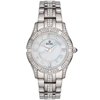 Buy Bulova Ladies Crystal Watch 96L116 online