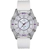 Buy Bulova Ladies Marine Star Strap Watch 96L144 online