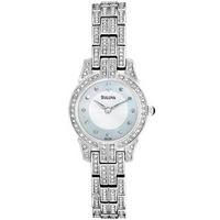 Buy Bulova Ladies Crystal Watch 96L149 online