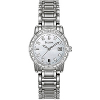 Buy Bulova Ladies Diamond Watch 96R105 online