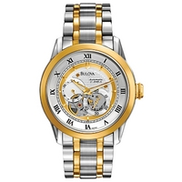 Buy Bulova Gents Mechanical Watch 98A123 online