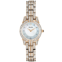 Buy Bulova Ladies Crystal Watch 98L155 online
