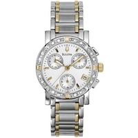 Buy Bulova Ladies Diamond Watch 98R98 online