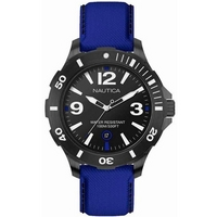 Buy Nautica Gents Blue Material Strap BFD 100 Watch A13025G online