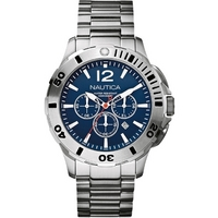 Buy Nautica Gents Chronograph Bracelet Watch A19582 online