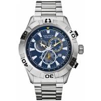 Buy Nautica Gents Chronograph Bracelet Watch A21530G online