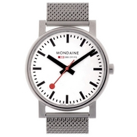 Buy Mondaine Gents Evolution Bracelet Watch A658.30300.11SBV online