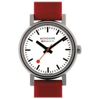 Buy Mondaine Ladies Evolution Strap Watch A658.30301.11SBC online