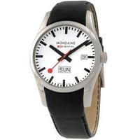 Buy Mondaine Gents Retro Strap Watch A667.30340.11SBB online