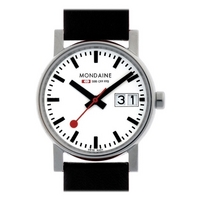 Buy Mondaine Ladies Evolution Big Date Strap Watch A669.30305.11SBB online