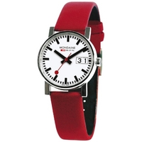 Buy Mondaine Ladies Evolution Big Date Strap Watch A669.30305.11SBC online