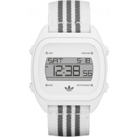 Buy Adidas Performance Gents Sports Digital Chronograph White Material Strap Watch ADH2732 online
