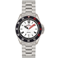Buy Rotary Gents Aquaspeed Bracelet Watch With Added Rubber Strap AGB00073-W-KIT online